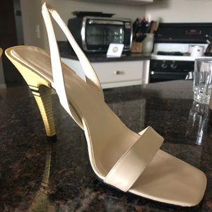 Gucci strappy heels - 100% authentic